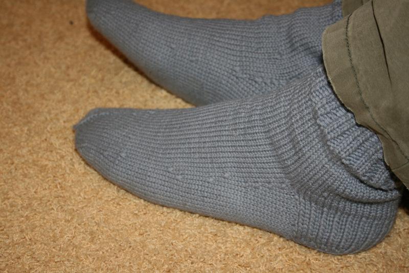 Su vilnonėmis kojinėmis