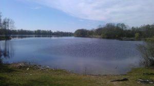 Karvys, ežeras